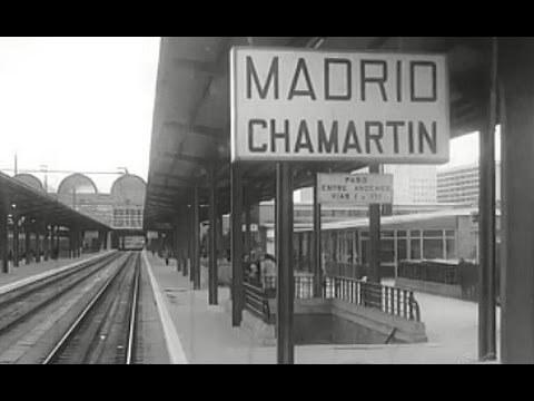 Estación de Chamartín en 1.975